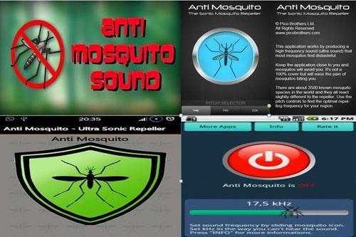 Các phần mềm đuổi côn trùng cài đặt trên điện thoại