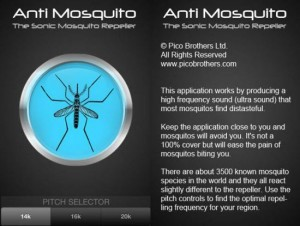 Ứng dụng đuổi muỗi trên di động