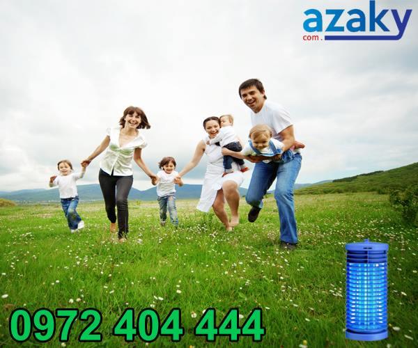 Bảo vệ sức khỏe với đèn diệt côn trùng Azaky