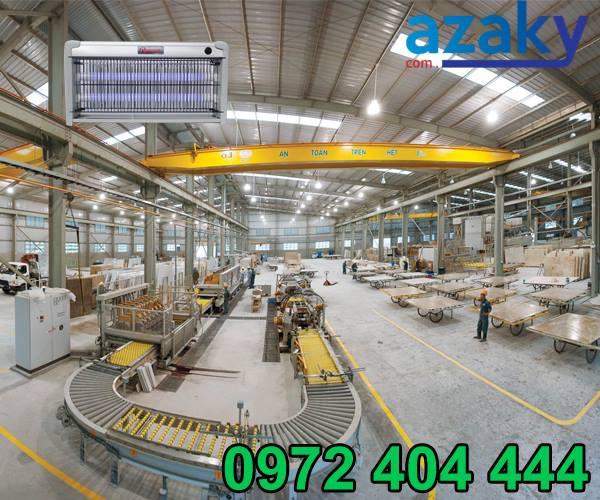 Azaky cung cấp đèn diệt côn trùng dân dụng và công nghiệp đa dạng kiểu dáng