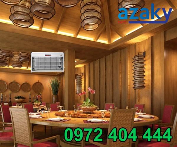 Công ty Azaky mang đến sự lựa chọn mới cho dòng đèn diệt côn trùng