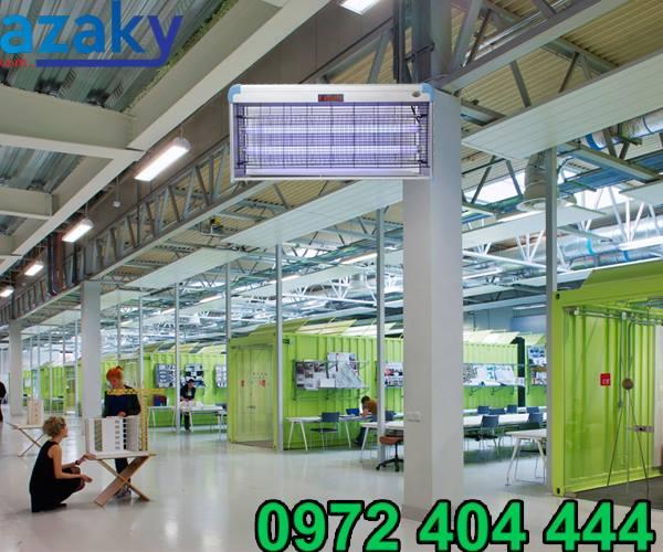 Azaky phân phối đa dạng sản phẩm đèn diệt côn trùng công nghiệp