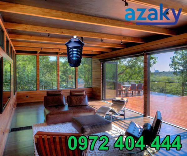 Đèn diệt muỗi Azaky an toàn cho mọi nhà